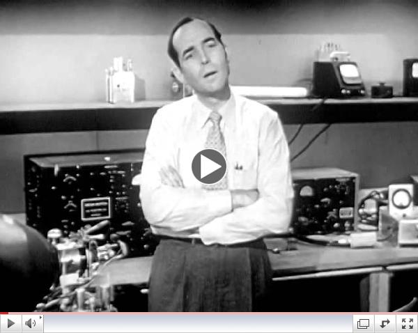 UHF TV: Fog Over Portland 1953 Zenith Radio Corp; Ultra High Frequency Television