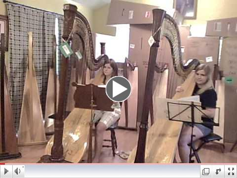 Johnny Comes Marching Home - Harp Duet arr. Rees-Rohnbacher