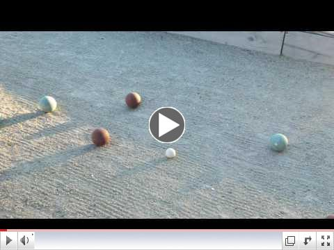 Bocce League Video - June 5, 2017 ( #3)