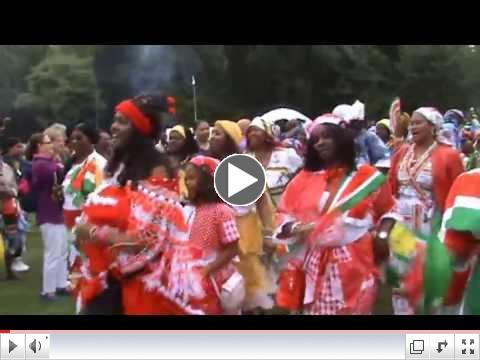 Black History Studies attends the Keti Koti Festival in Amsterdam - July 2013