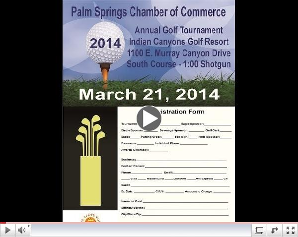 2014 Palm Springs Annual Golf Tournament