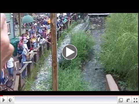 Ducky Race Fundraiser, Crested Butte, Colorado 2014