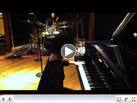 Piano & Drums! Tania Stavreva & Will Calhoun! Bulgarian-Bronx collaboration!