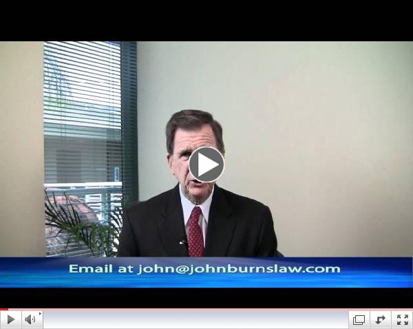Attorney John P. Burns explains why you probably don't want to represent yourself after an injury accident.