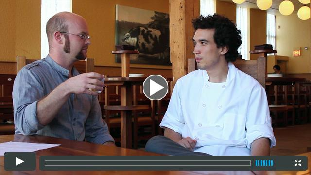 Starving Artist 2012: Artist Erik Peterson and Chef Erling Wu-Bower