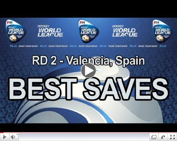 Best Saves of Hockey World League Women Round 2 Valencia