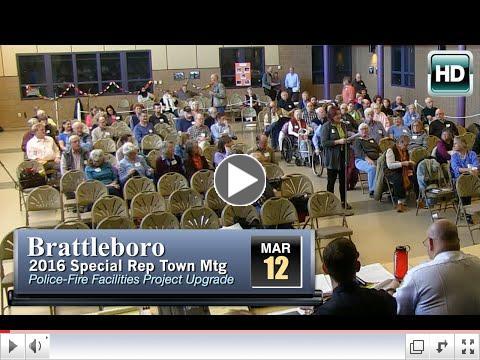 Last week's Special Rep Town Meeting