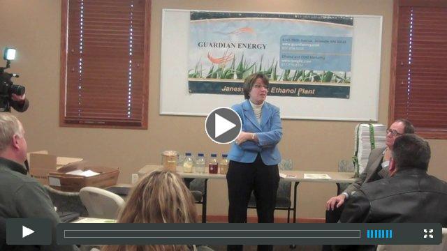 US Sen Amy Klobuchar opposes EPA proposal on RFS