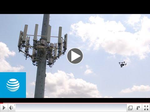 A Bird's Eye View of AT&T's Drone Inspection Program. Video Credit: AT&T