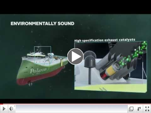 Seismic vessel Polarcus Amani delivered by ULSTEIN