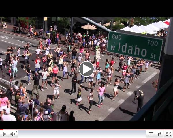 National Dance Day 2014 Flash Mob Boise, ID - DiVA Dance Fitness By Kendall