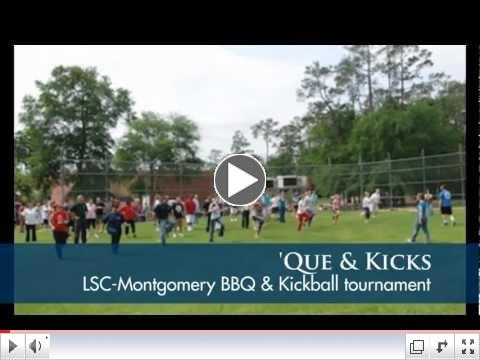 'Que & Kicks: Lone Star College-Montgomery BBQ and Kickball Tournament