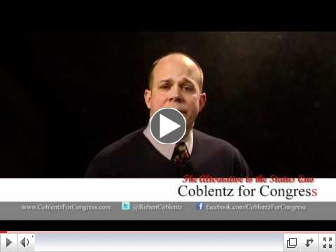 Coblentz for Congress - TV Ad