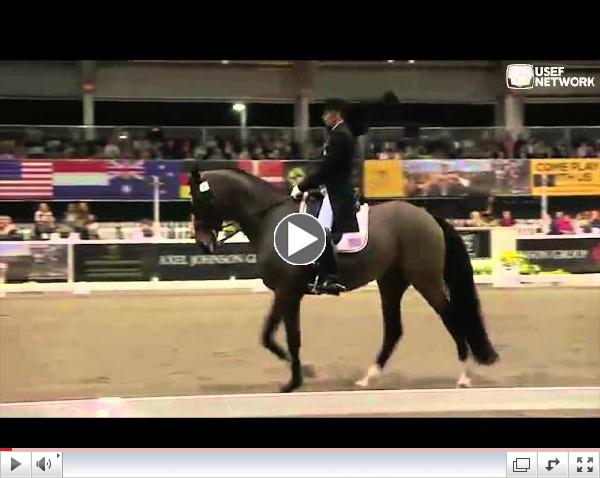 Steffen Peters & Legolas 92 at the WDM Grand Prix Freestyle