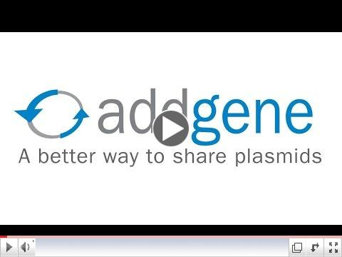 Addgene Browse and Search Video