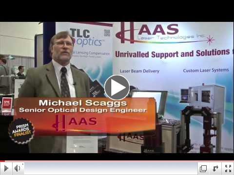 Thermal Lensing Compensation (TLC) Optics - Prism Awards Finalist