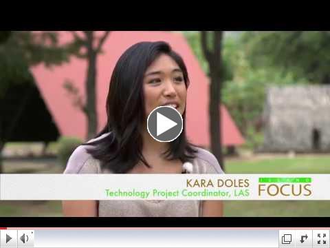 Legal Aid's Kara Doles with host Lyla Berg on Olelo's Island Focus