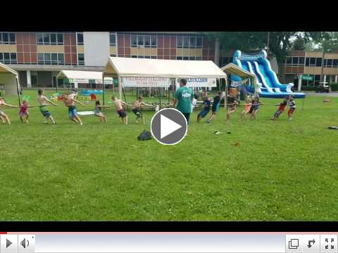 Summer Day Camp, Day 3 - June 21, 2017 - Tug of War