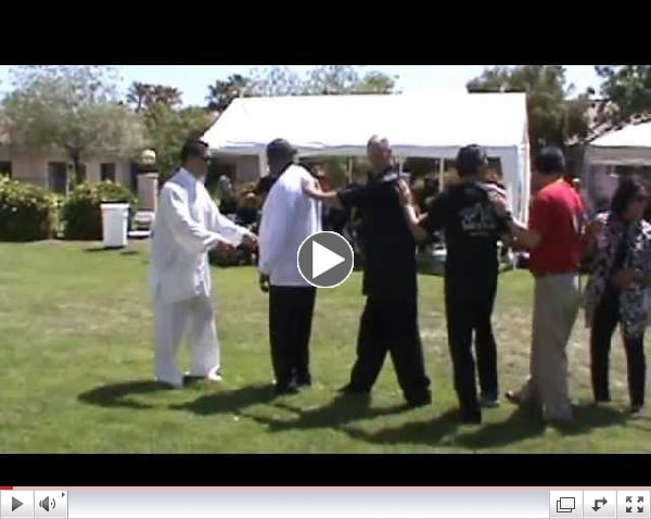 2013 World Tai Chi Qigong Day Push Hands And Fajin Demonstration in Las Vegas Nevada