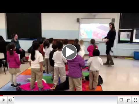 Mrs. Reilly's Friendly Frogs sing