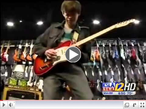 Entertainment Reporter Jabari Thomas Interviews Brotherhood of Guitar member Matthew Davidson