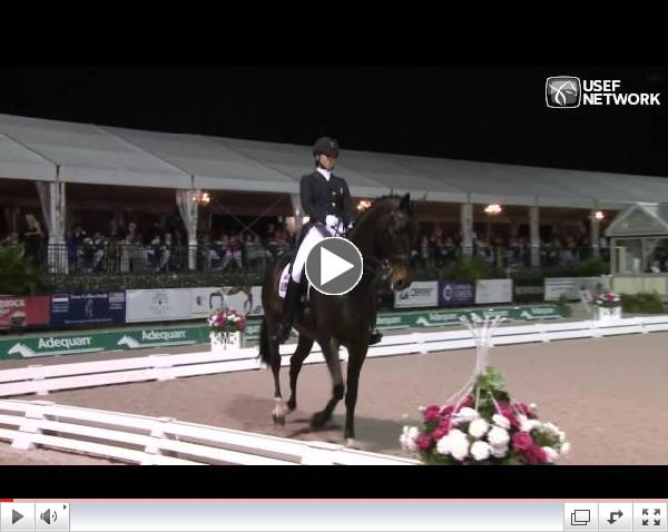 #AdequanGDF CDIO3* Freestyle Wnners - Adrienne Lyle & Wizard