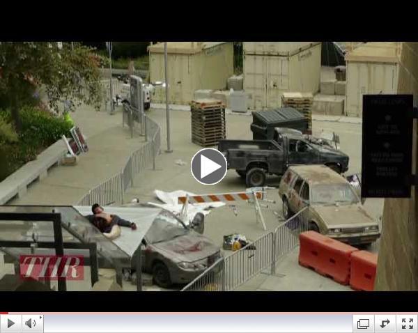 The Walking Dead Escape Tour Comic-Con 2012