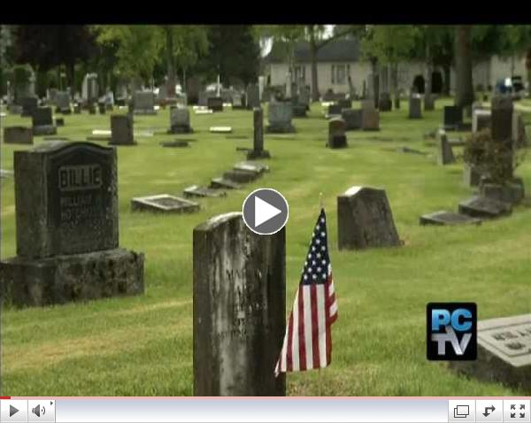 Sumner Cemetery Flags