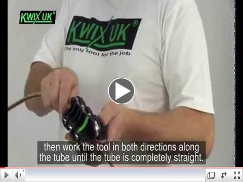 Watch How-To Use Brake Pipe Straightening                                                           Tool