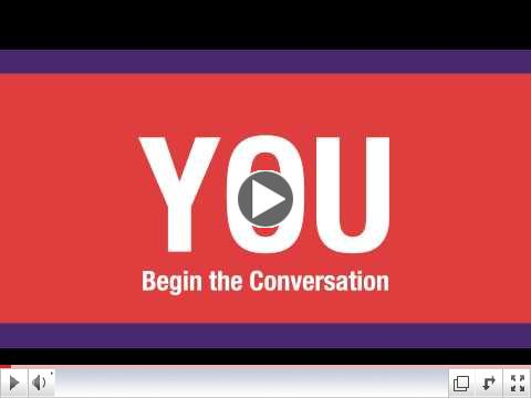 You Begin the Conversation