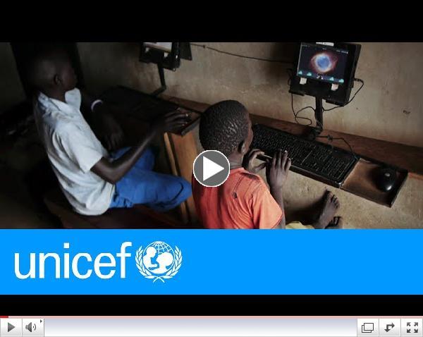 Ugandan computer whiz shares how he fosters community | UNICEF