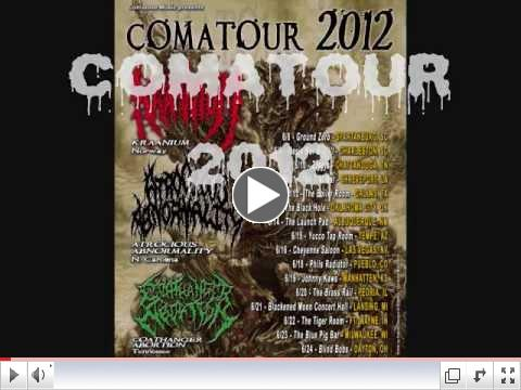 COMATOUR-2012 PROMO with tour dates and venues