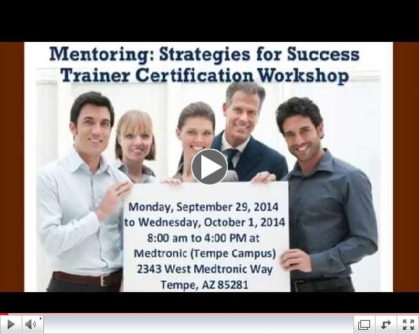 Mentoring: Strategies for Success