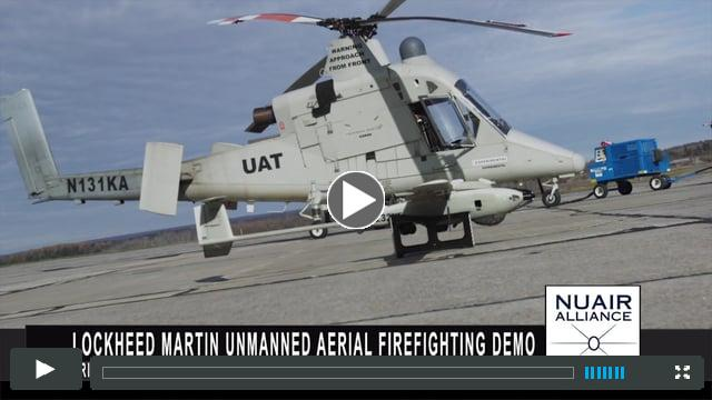 Unmanned Aerial Firefighting at New York Test Site