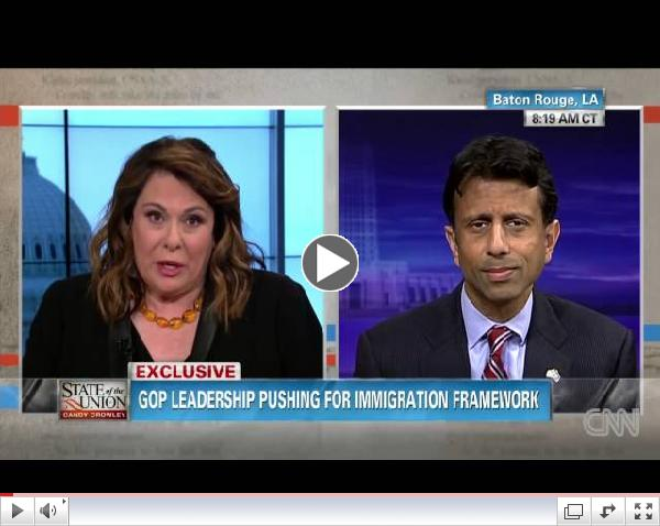 Bobby Jindal on Immigration Reform: Build high walls with broader gates