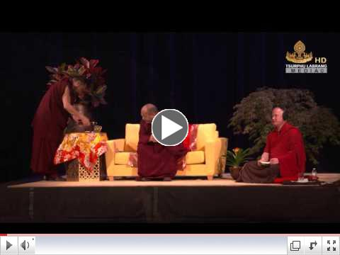 HH the 17th Karmapa teaches on taking Refuge