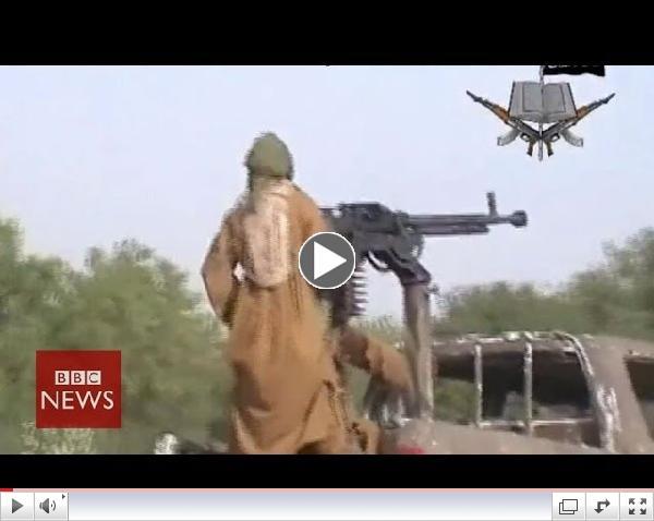 Blóði drifin slóð Boko Haram - BBC fréttir.