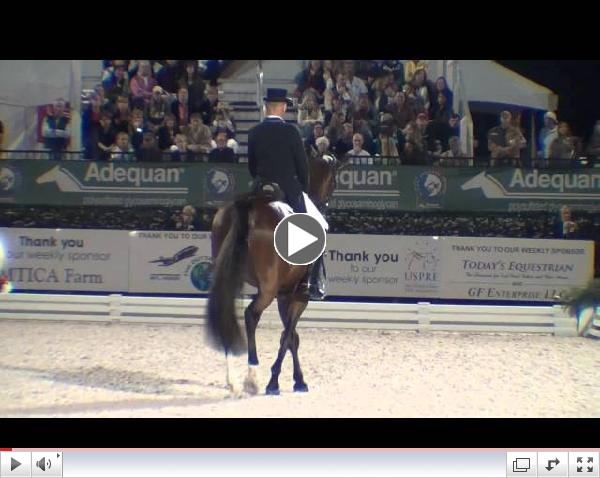 Watch the winning freestyle ride of Lars Petersen and Mariett! Video courtesy of Campfield Videos.