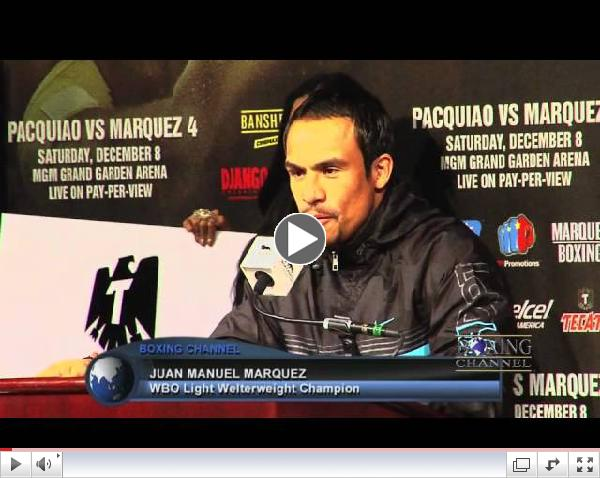 Pacquiao-Marquez 4 pre-fight press conference