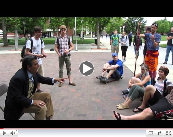 More Fun with Jesus at Boise State, May 8 2014, part 3 of 3
