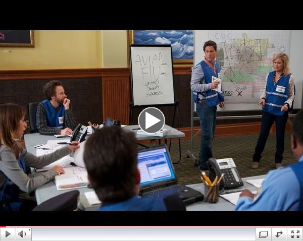 The Avian Flu Hits Pawnee - Parks and Recreation Highlight