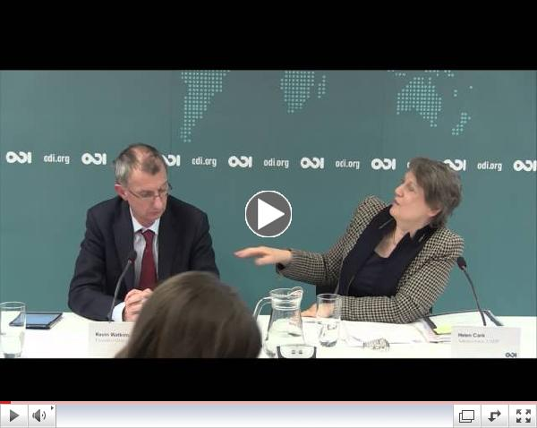 Delivering the 2015 ambition - Helen Clark, Administrator, UNDP