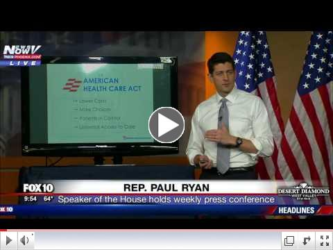 Paul Ryan Health Care Plan