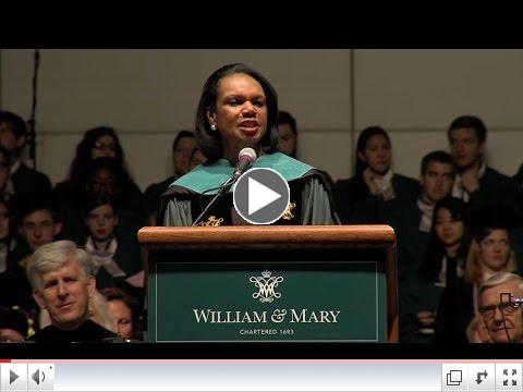Commencement 2015: Rice's keynote speech