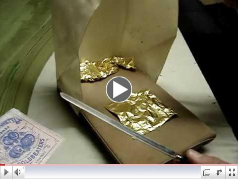 Gilding: Using the Gilder's Pad~ Charles Douglas Gilding Studio