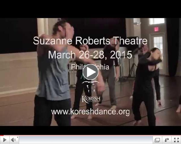Koresh Dance Company presents Aftershock, March 2015