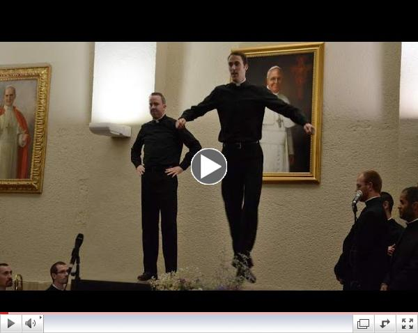American Priests' Rome Dance-Off Video Goes Viral   Priests In Dance-Off Become Web Sensation