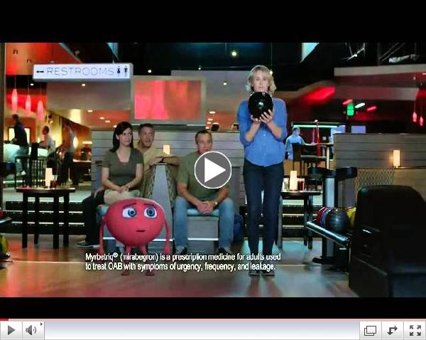 Bowling - Myrbetriq Commercial 2015