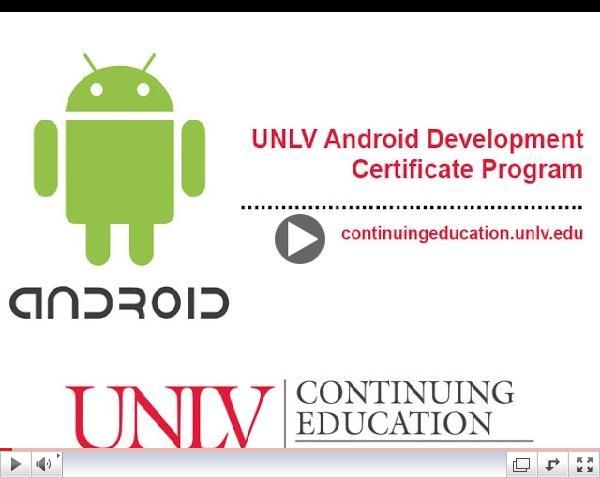 UNLV - Android Development Certificate
