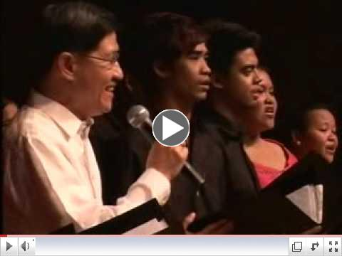 YOU AND I - Bishop CHITO TAGLE with the OLP CATHEDRAL CHOIR.wmv